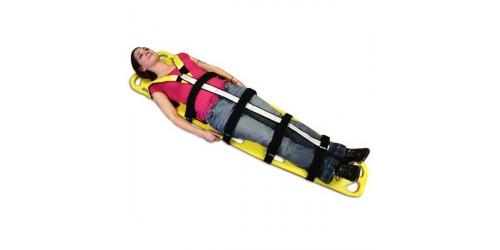 Système de retenu rapide pour immobilisation de la colonne vertébrale
